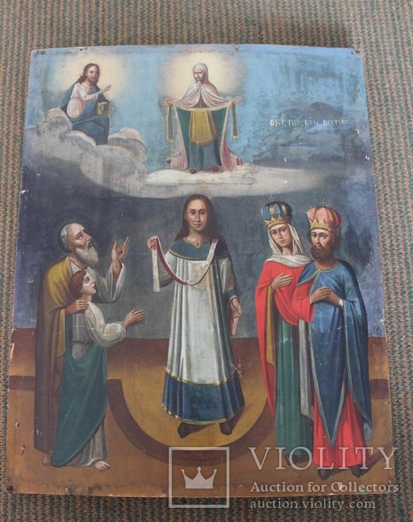 Икона Покрова Пресвятой Богородицы, фото №2