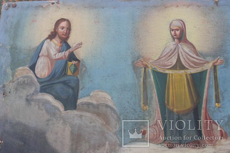 Икона Покрова Пресвятой Богородицы, фото №7