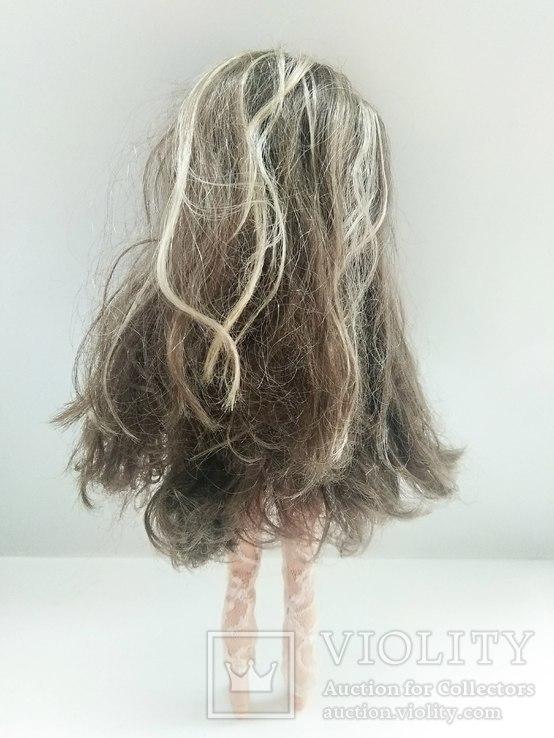 Кукла шарнирная с париком, фото №3