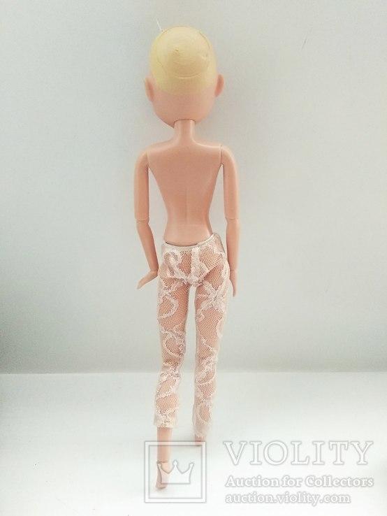 Кукла шарнирная с париком, фото №4