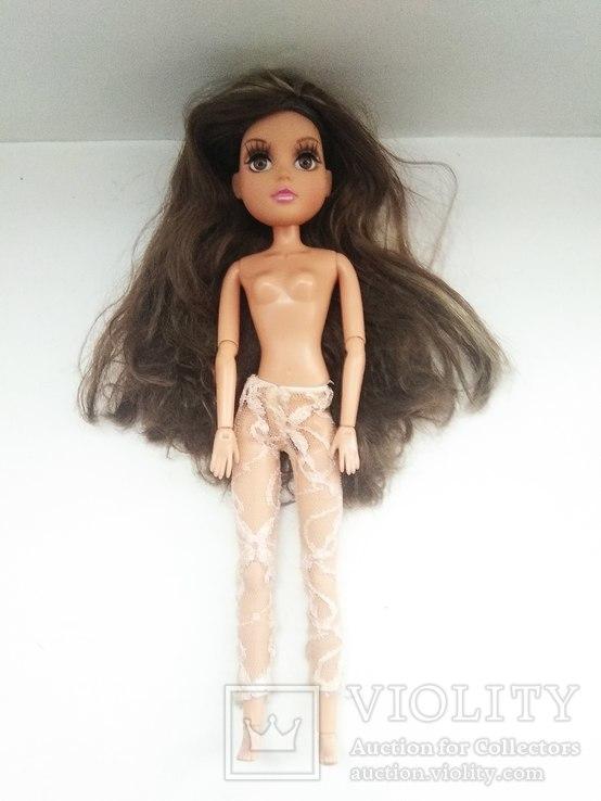 Кукла шарнирная с париком, фото №8