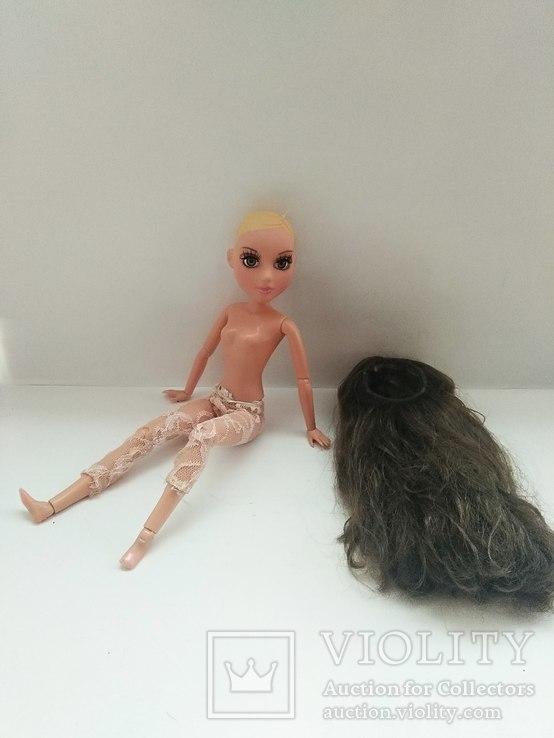 Кукла шарнирная с париком, фото №11