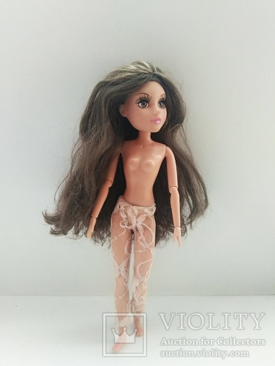 Кукла шарнирная с париком, фото №13