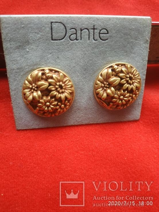 Клипсы Dante цветы