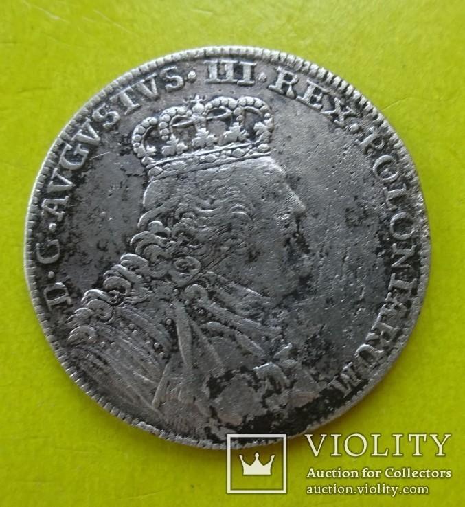 18 грош (Тымф), Польша, 1754 год,, фото №2