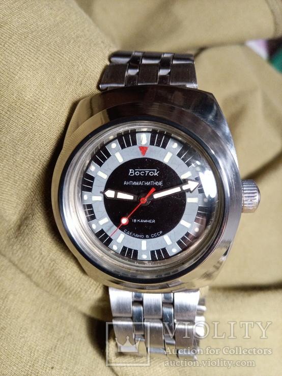 Часы Восток Амфибия (090) бочка.