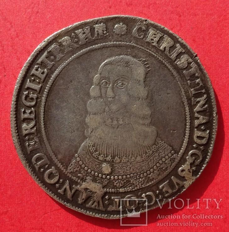 Таллер, Швеция, 1646 год, Кристина.