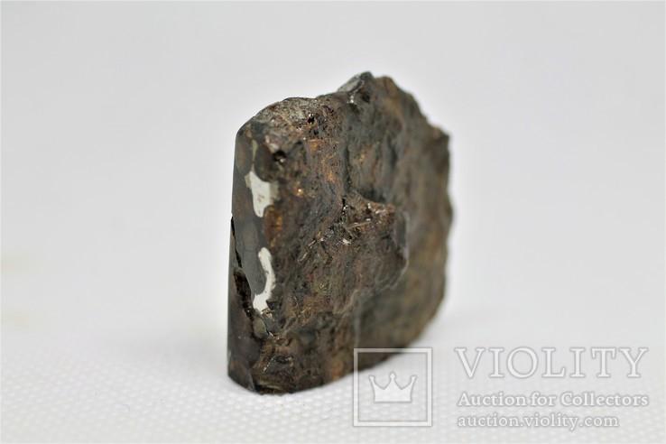 Залізо-кам'яний метеорит Брагін Brahin, 21,7 грам, із сертифікатом автентичності, фото №9