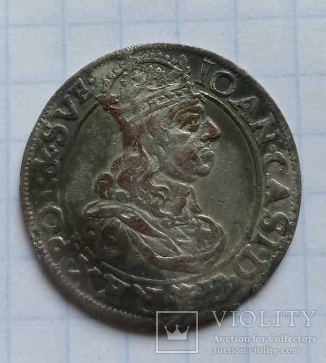 Шість грошей 1661р.