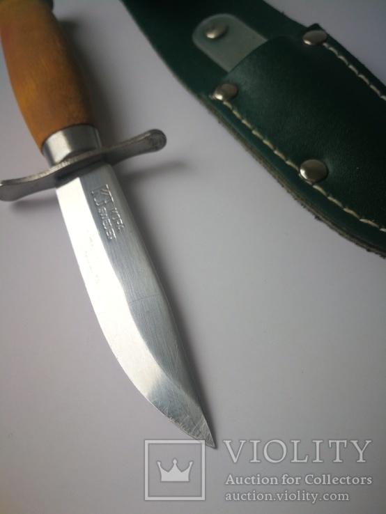 Скаутский нож Mora Швеция. N22., фото №6