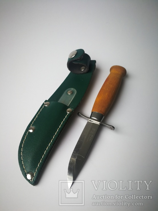 Скаутский нож Mora Швеция. N22., фото №8