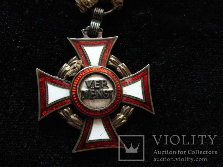 ,, Хрест Військових Заслуг ,, VER DIENST  FJ1
