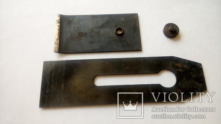 Нож Лезвие для Рубанка двойной советский новый 50 мм, фото №3