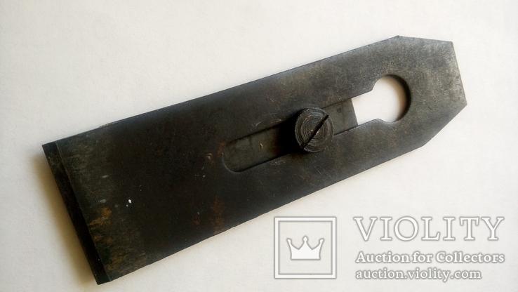 Нож Лезвие для Рубанка двойной советский новый 50 мм, фото №4