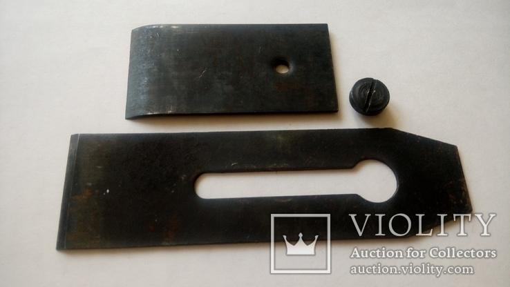 Нож Лезвие для Рубанка двойной советский новый 50 мм, фото №10