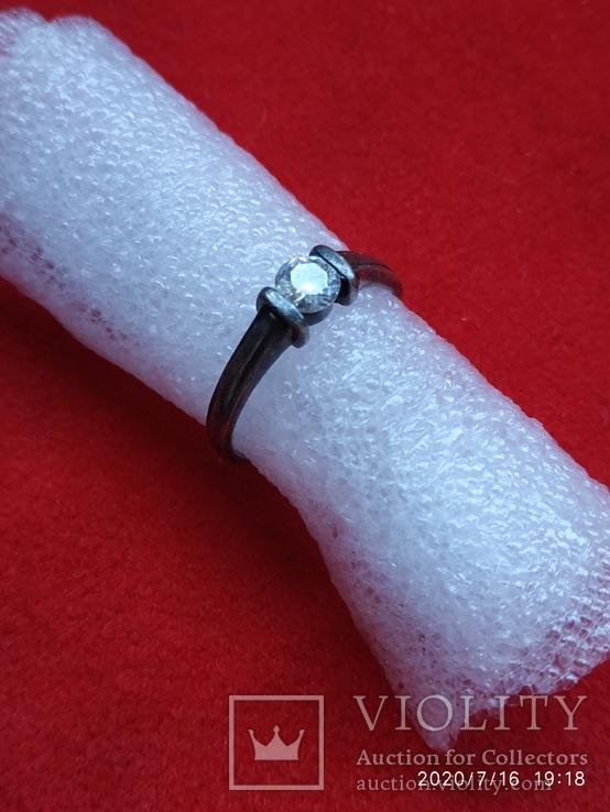 Кольцо серебро, фото №2