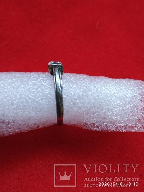 Кольцо серебро, фото №3