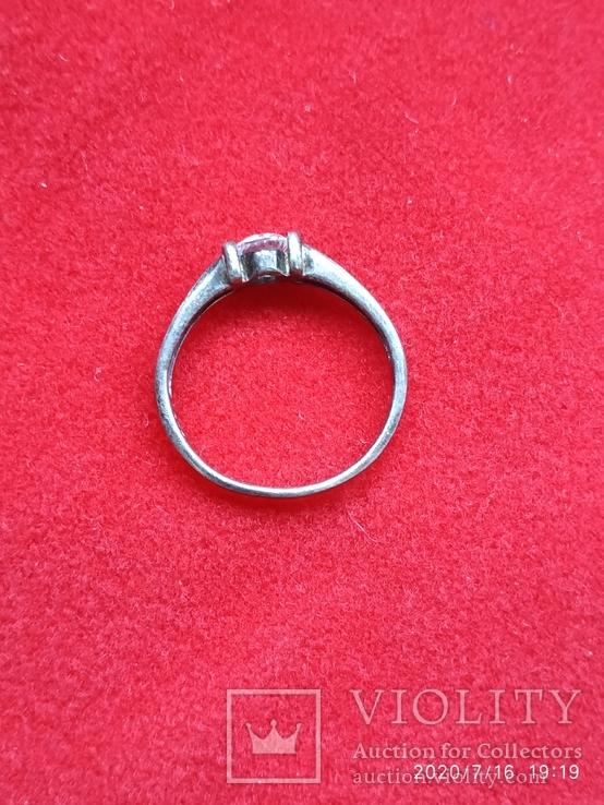 Кольцо серебро, фото №6