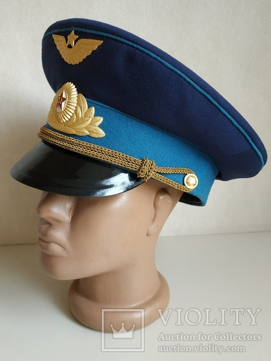 Фуражка офицера ВВС. СССР, фото №3