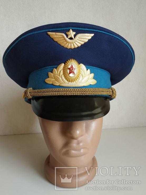 Фуражка офицера ВВС. СССР, фото №2