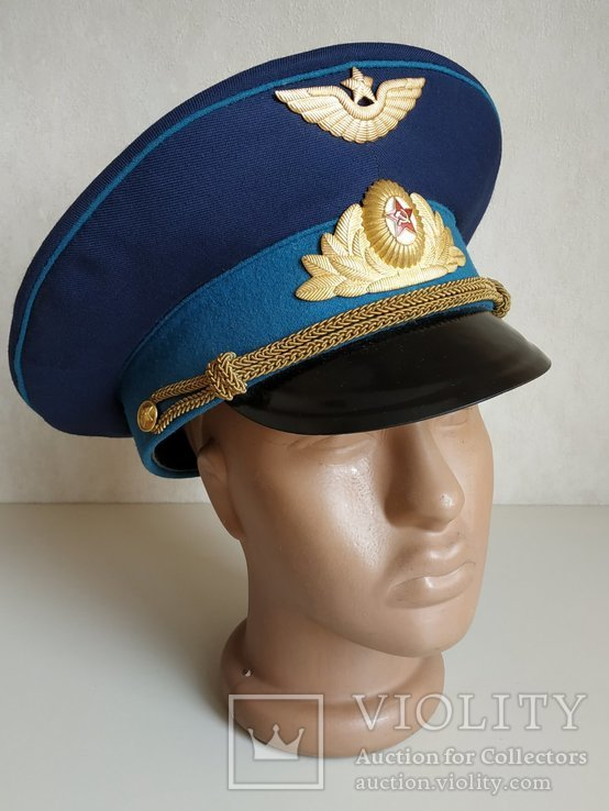Фуражка офицера ВВС. СССР, фото №8