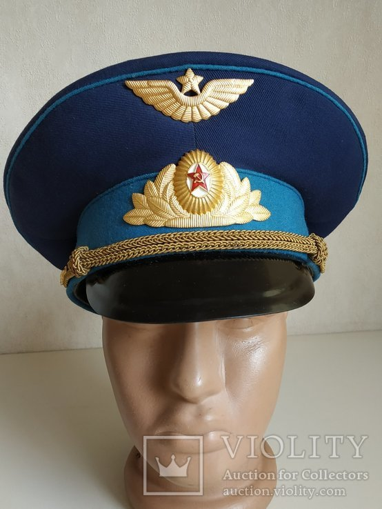 Фуражка офицера ВВС. СССР, фото №9