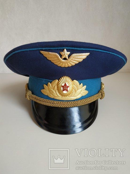 Фуражка офицера ВВС. СССР, фото №11