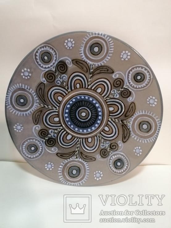 Настенная тарелка ЛКСФ, фото №2