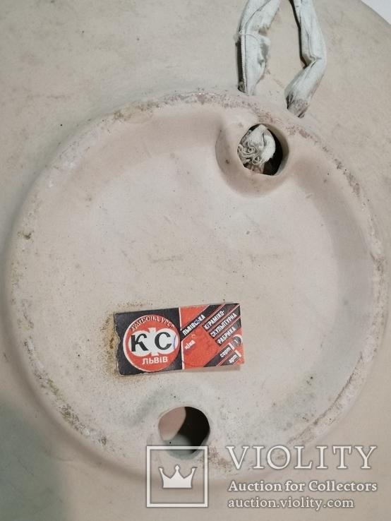 Настенная тарелка ЛКСФ, фото №3