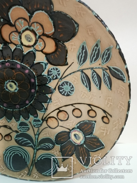 Настенная тарелка ЛКСФ, фото №7