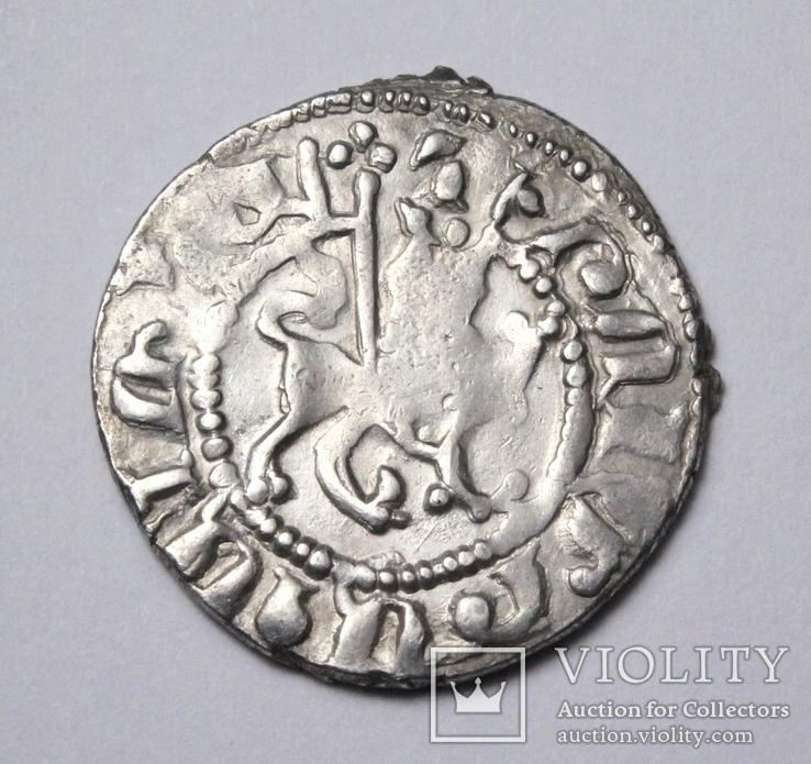 Кілікійська Вірменія, цар Хетум І та цариця Забел, срібний трам 1226-1270рр., фото №4