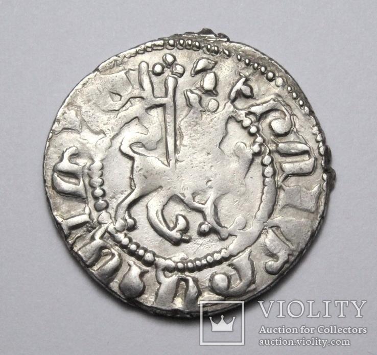 Кілікійська Вірменія, цар Хетум І та цариця Забел, срібний трам 1226-1270рр., фото №10