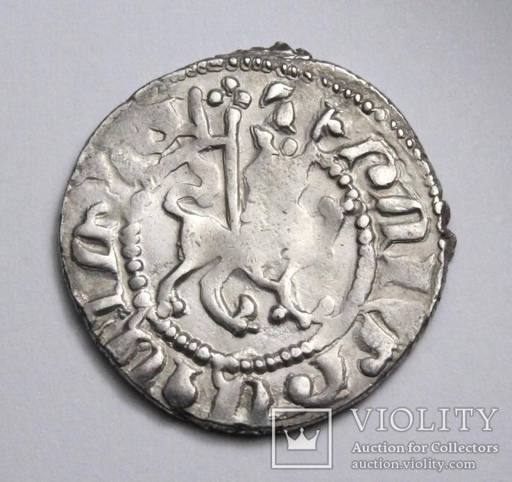 Кілікійська Вірменія, цар Хетум І та цариця Забел, срібний трам 1226-1270рр., фото №11