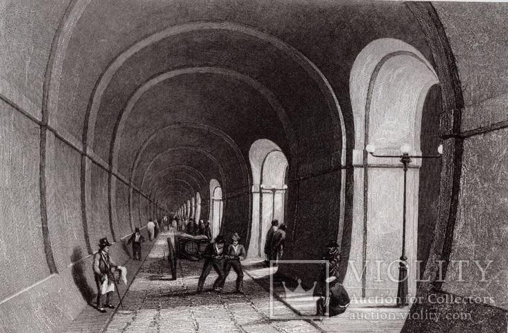 Старинная гравюра. XIX век. (25х17,8см.), фото №2
