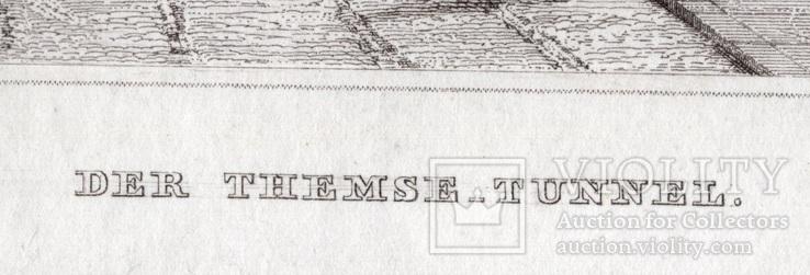 Старинная гравюра. XIX век. (25х17,8см.), фото №5