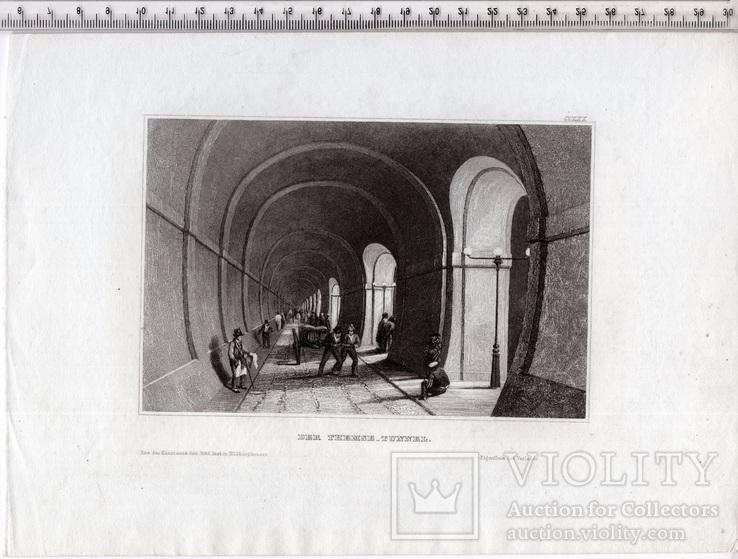 Старинная гравюра. XIX век. (25х17,8см.), фото №7