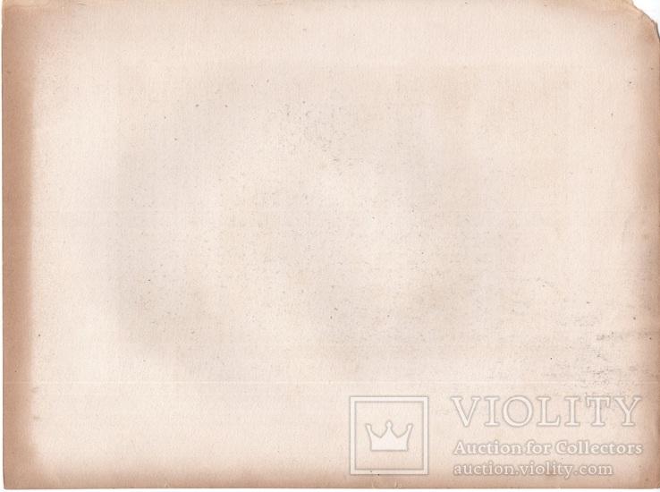 Старинная гравюра. XIX век. (27,2х20,3см.), фото №8