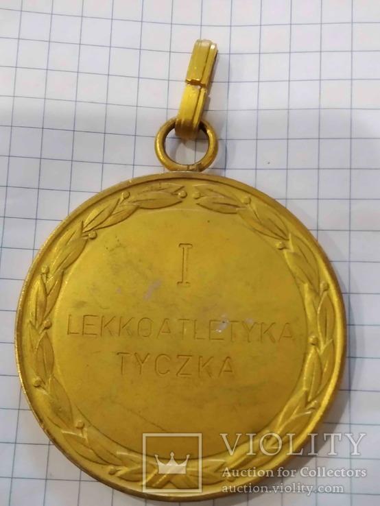 Польща, Медаль за 1-е місце, Міжнародний молодіжний турнір, 1955., фото №3