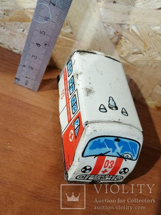 Игрушка СССР Скорая помощь, фото №2