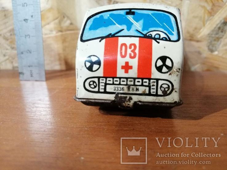 Игрушка СССР Скорая помощь, фото №9