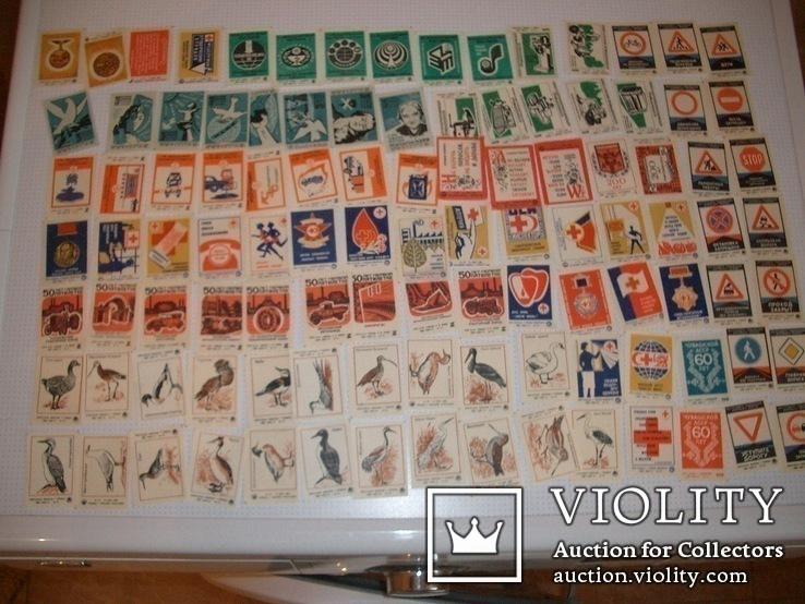 Спичечные этикетки,431 шт,целые серии,нулевые, фото №2