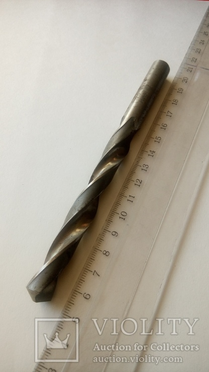 Сверло советское новое диаметр 12 мм Р6М5, фото №9