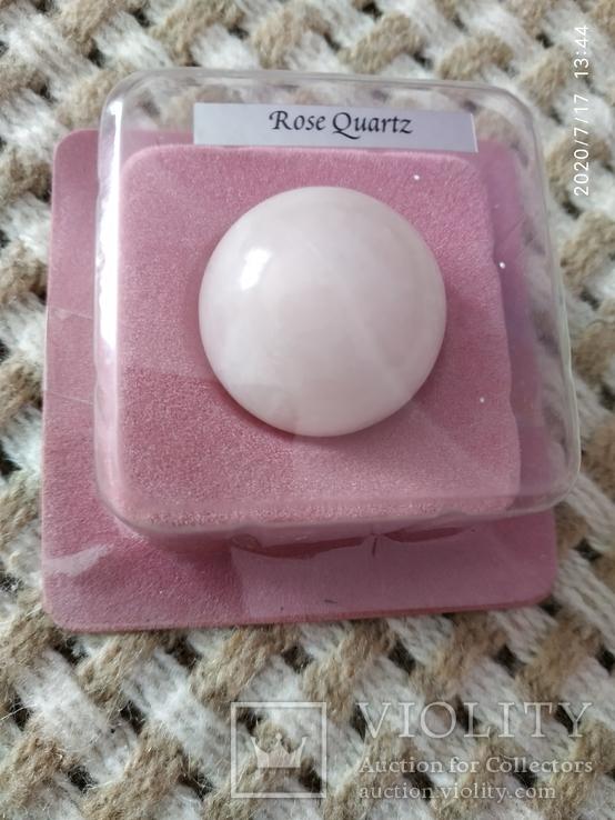 Шар розовый кварц 30мм, фото №2