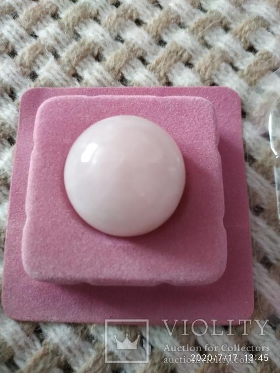 Шар розовый кварц 30мм, фото №6