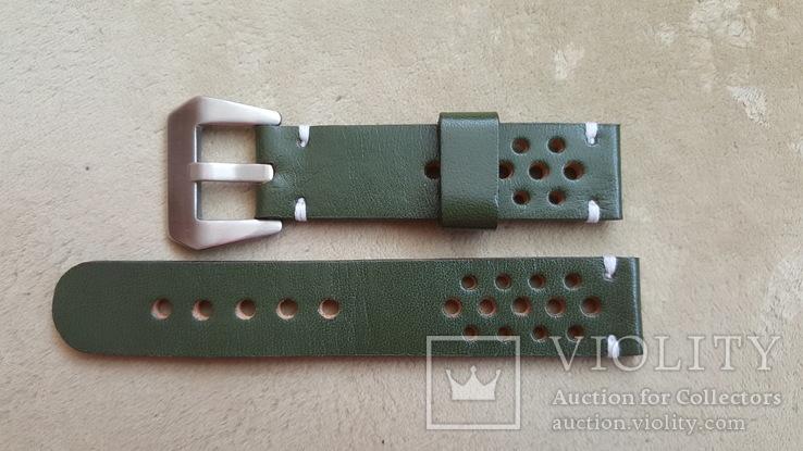 Ремень кожаный 20 мм, фото №2