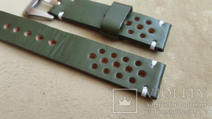 Ремень кожаный 20 мм, фото №3