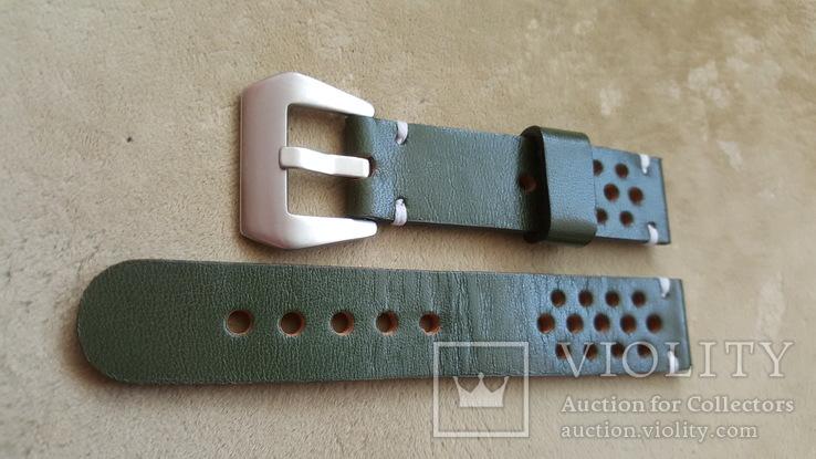 Ремень кожаный 20 мм, фото №4