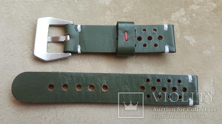 Ремень кожаный 20 мм, фото №5