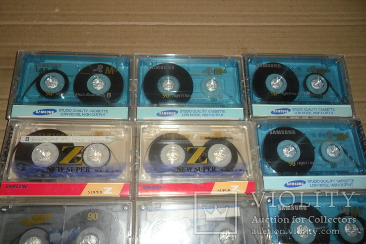 Аудиокассета кассета Samsung - 10 шт в лоте, фото №3