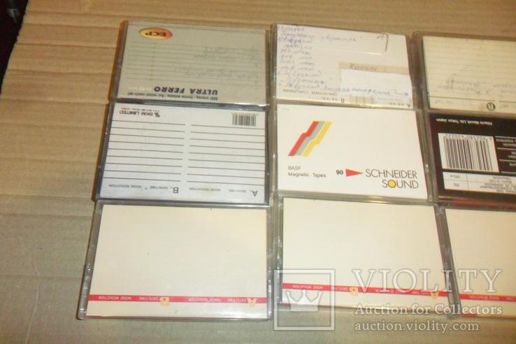 Аудиокассета кассета Samsung Skc Ecp Fuji Maxell Basf - 12 шт в лоте, фото №5